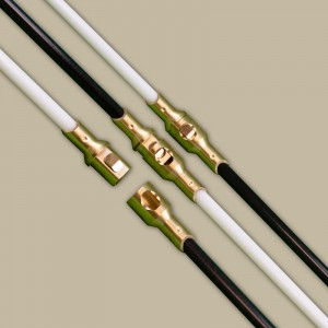 Rodtech Brass Click 15 mm  Solid Rod